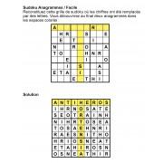 Sudoku Anagrammes 9x9 n° 1