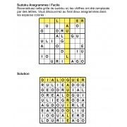 Sudoku Anagrammes 9x9 n° 3