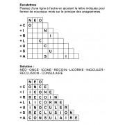 Escalettres 3 à 10 lettres n° 6