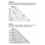 Escalettres 3 à 11 lettres n° 4