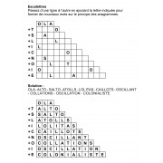 Escalettres 3 à 12 lettres n° 1