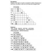 Escalettres 3 à 12 lettres n° 3