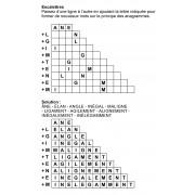 Escalettres 3 à 12 lettres n° 11