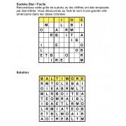 Sudoku thématique 9x9 n° 1