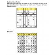 Sudoku thématique 9x9 n° 3