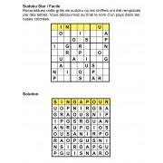Sudoku thématique 9x9 n° 4
