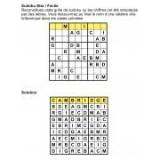 Sudoku thématique 9x9 n° 5