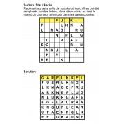 Sudoku star 9x9 n° 3