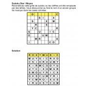 Sudoku star 9x9 n° 4