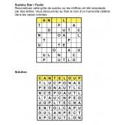 Sudoku star 9x9 n° 6