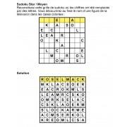 Sudoku star 9x9 n° 7
