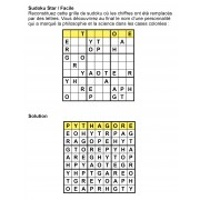 Sudoku star 9x9 n° 9