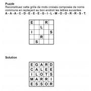 Puzzle 5x5 n° 3