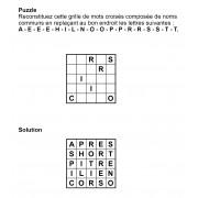 Puzzle 5x5 n° 4