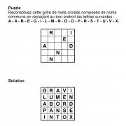 Puzzle 5x5 n° 5