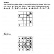 Puzzle 5x5 n° 7