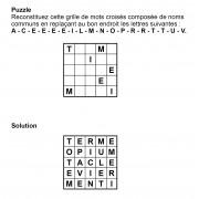 Puzzle 5x5 n° 9