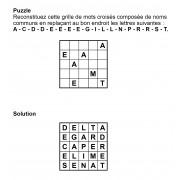 Puzzle 5x5 n° 10