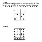 Puzzle 5x5 n° 12
