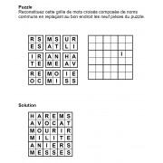 Puzzle 6x6 n° 1