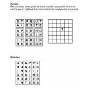 Puzzle 6x6 n° 3