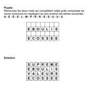 Puzzle 7x4 n° 1