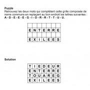 Puzzle 7x4 n° 4