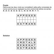 Puzzle 7x4 n° 10