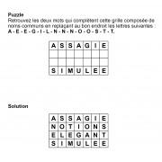 Puzzle 7x4 n° 12