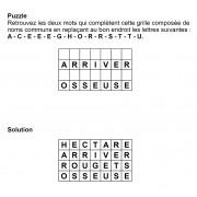 Puzzle 7x4 n° 14