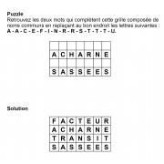Puzzle 7x4 n° 18