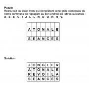 Puzzle 7x4 n° 19