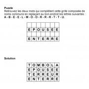 Puzzle 7x4 n° 20