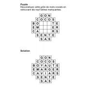 Puzzle 7x7 n° 9