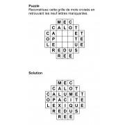 Puzzle 7x7 n° 12