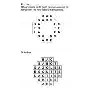 Puzzle 7x7 n° 14