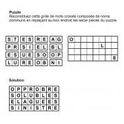 Puzzle 8x4 n° 1