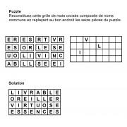 Puzzle 8x4 n° 4