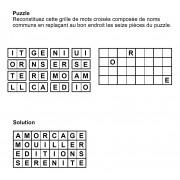 Puzzle 8x4 n° 5