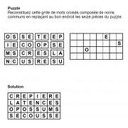 Puzzle 8x4 n° 6