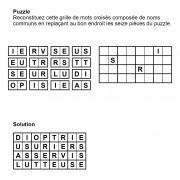 Puzzle 8x4 n° 9