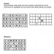 Puzzle 8x4 n° 10