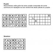 Puzzle 8x4 n° 13