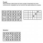Puzzle 8x4 n° 16