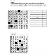 Puzzle 8x8 n° 1