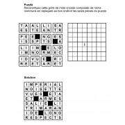 Puzzle 8x8 n° 8