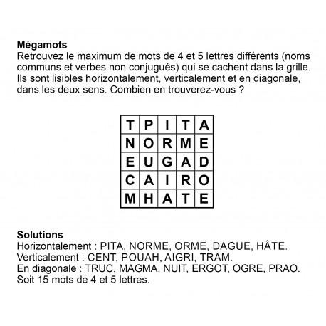 Mégamots 5x5 n° 4