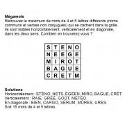 Mégamots 5x5 n° 5