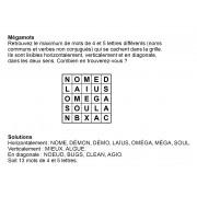 Mégamots 5x5 n° 8