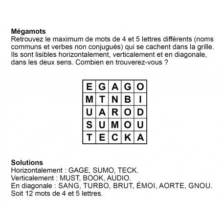 Mégamots 5x5 n° 9